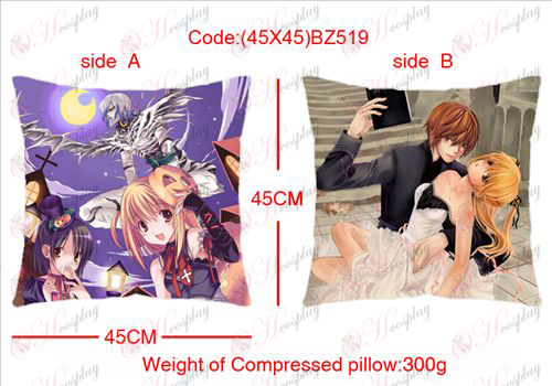 (45X45) BZ519-Death Note Accessories sided square pillow