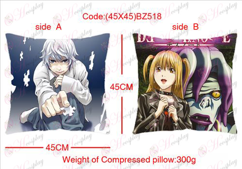 (45X45) BZ518-Death Note Accessories sided square pillow