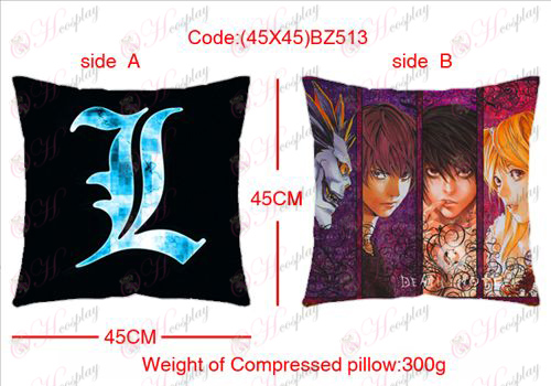 (45X45) BZ513-Death Note Accessories sided square pillow