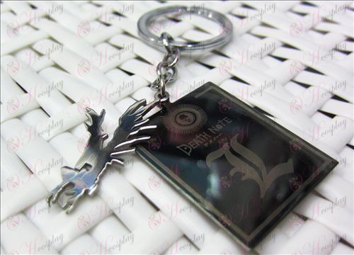 Death Note Accessories shuangpai Keychain
