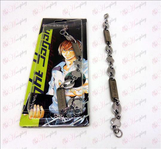 Death Note Acessórios Alloy Bracelet