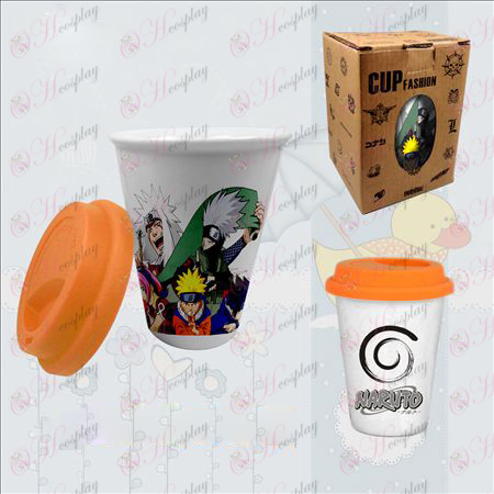 Double color ceramic cups (Naruto)