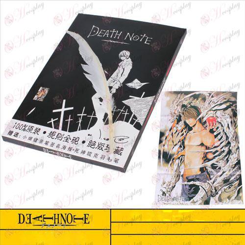 גברים באיכות גבוהות Death Note אבזרים דיווחו מחברת בגודל בתוספת הנוצה CCLEC