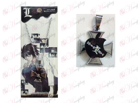 Death Note Accesorios de Apple Serie 0 collar de la palabra