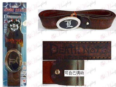 Death Note Accessories new belt