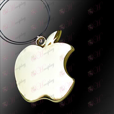 Death Note Accessories Apple Necklace (Rose Gold)