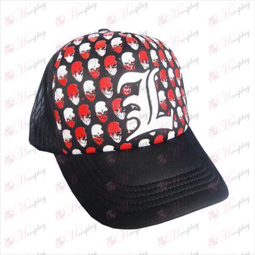 לוגו הערה כובע מוות גבוה נטו אבזרים