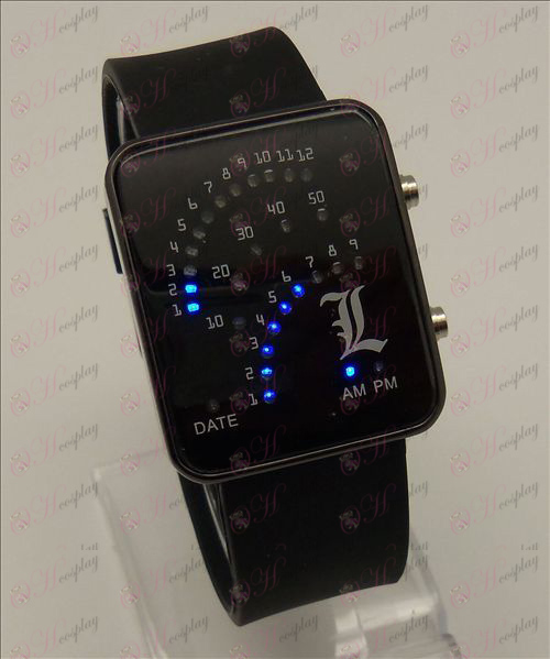 Death Note Accessories Sector LED Watch