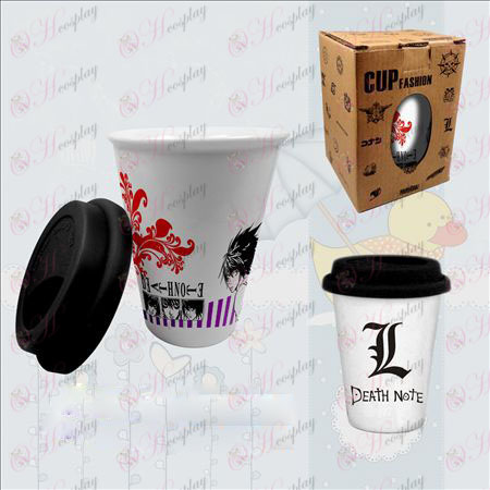 Double color ceramic cups (Death Note Accessories)