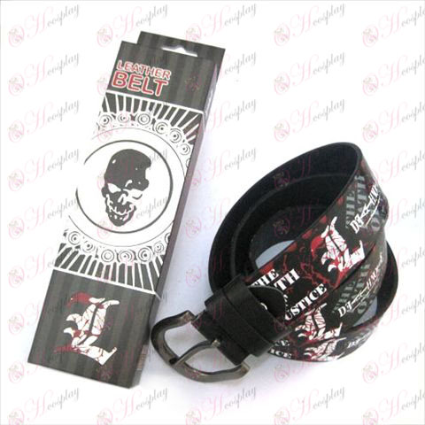 Death Note Accessories Belts