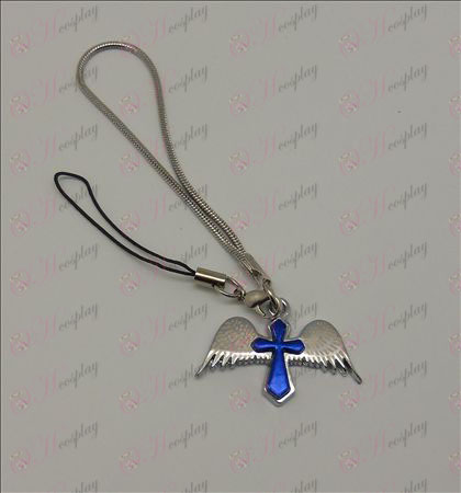Blister Death Note Accessories Angel Cross Strap (Blue)