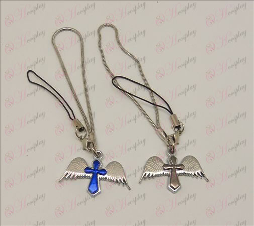 Blister Death Note Accessoires Angel Cross Strap paar