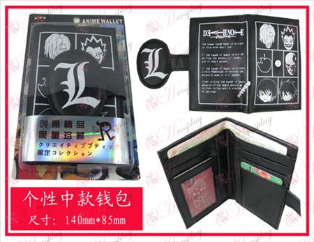 Personality wallet-Death Note Accessories