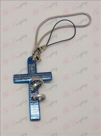 Blister Death Note Accessories Ring Strap (small blue)