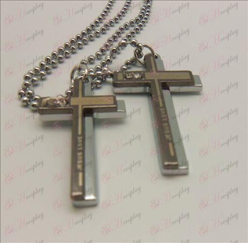 Death Note Zubehör Dual-Kreuz-Halskette (box)