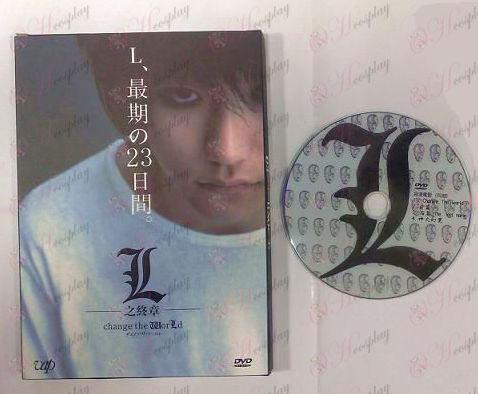 Death Note Acessórios edição em DVD dos Acessórios canadenses Filme