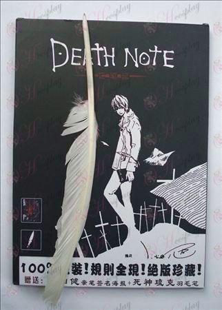 הערה מחברת מות אבזרים גדול + עט