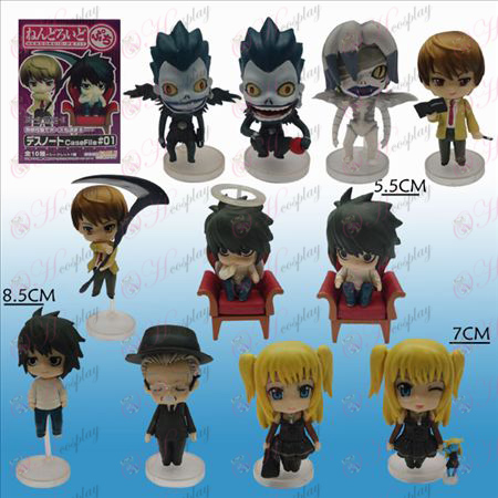 11 Death Note AccessoriesQ Version Boden Puppe (Sets)