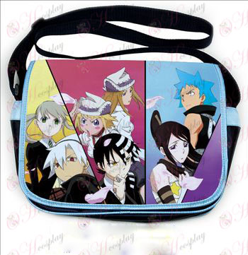 Soul Eater Accessories colored leather satchel 543