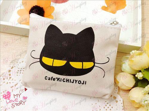 Kichijoji noir sachets de chat
