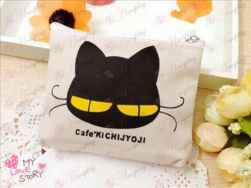 Kichijoji черна котка торбички