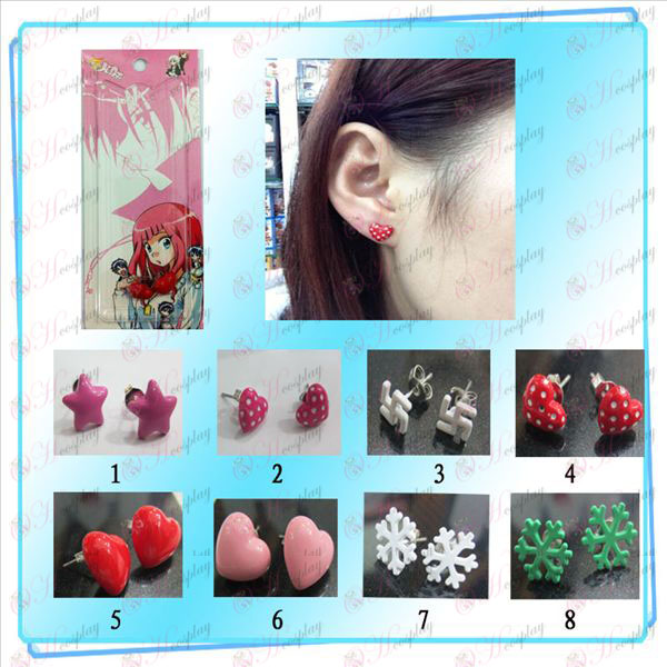 Eight cartoon earring Halloween Accessories Online Store