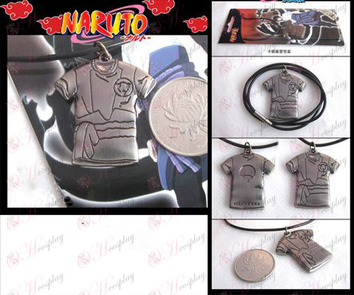 Naruto Sasuke clothes necklace