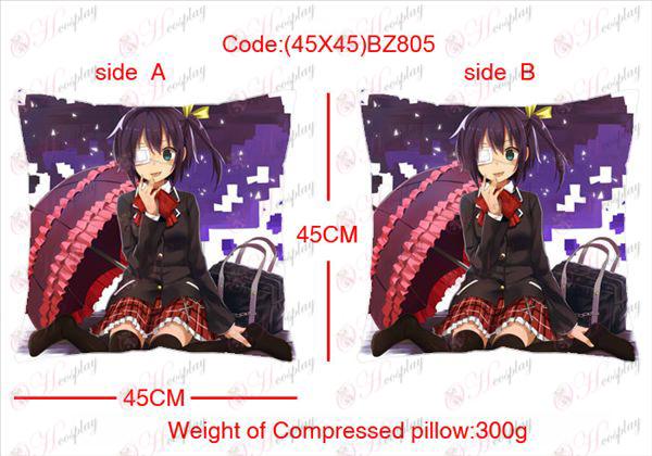 (45x45) BZ805-במחלה דו צדדית גם אוהב כרית מרובעת אנימה