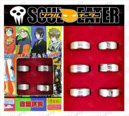 Soul Eater Príslušenstvo Matné krúžok (6 / set)