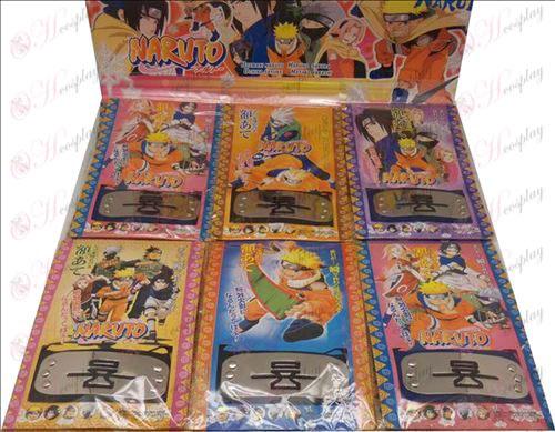 Xiao Organisasjoner Naruto hodebånd (dømt sand 6 / sett)