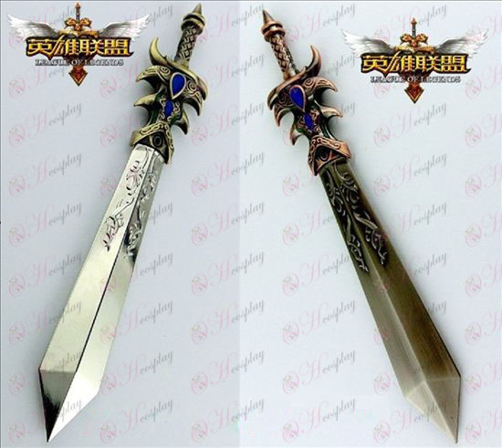 League of Legends Accessories Dema West power of weapons two colors