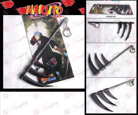Naruto fly pistol farge spenne kniv 16cm ledd