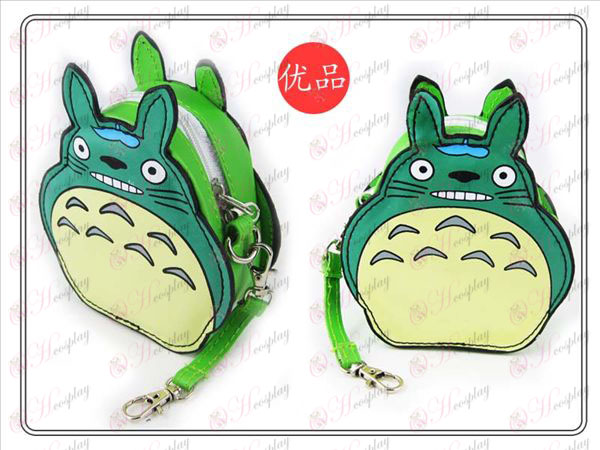 II My Neighbor Totoro Accessories Purse (Green)