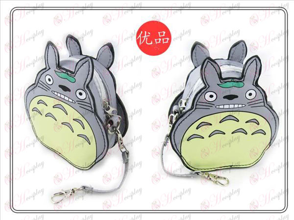 II My Neighbor Totoro Accessories Purse (Gray)
