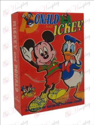 Hardcover edition of Poker (Mickey Mouse and Donald Duck)