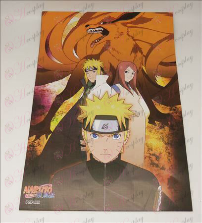 42 * 29 Naruto manifesti in rilievo (8 / set
