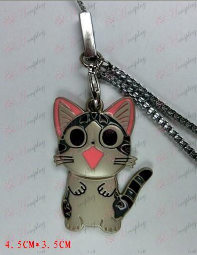 Privato dolce gatto catena del telefono mobile