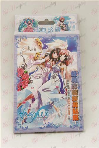32 adesivos (Sora no Otoshimono)