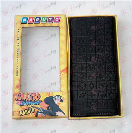 Naruto lång präglade plånbok