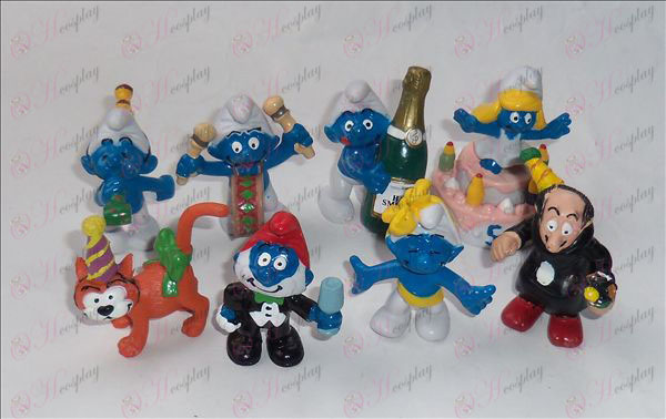 4th generation 8 models The Smurfs Accessories Doll