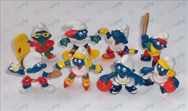 3rd generation 8 models The Smurfs Accessories Doll