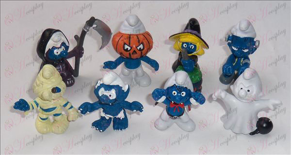 A generation of 8 models The Smurfs Accessories Doll