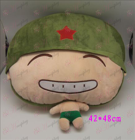 1 # Artillery Plush Pillow (C)
