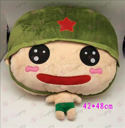 1 # Artillery Plush Pillow (A)