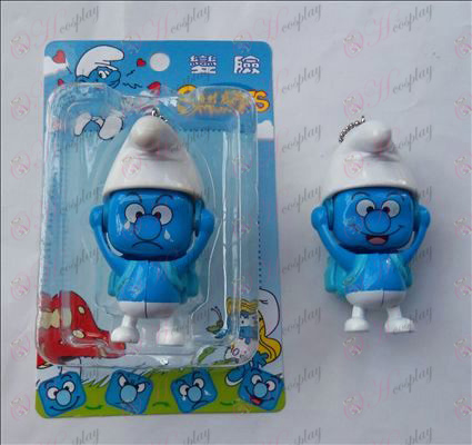 De Smurfen Accessoires gezicht pop