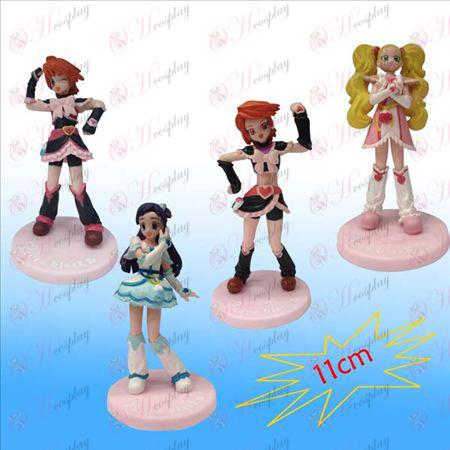 1 Generation 4 modeller lys pige dukke vugge