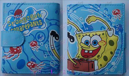 Q version of SpongeBob SquarePants Accessories Avatar wallet