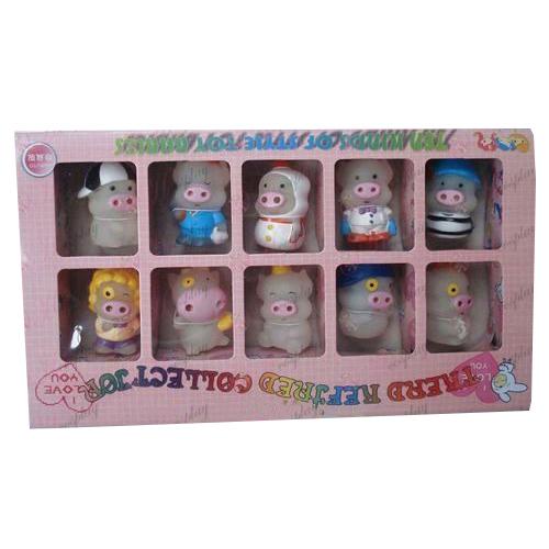 McDull прасе кукла прозрачна кутия