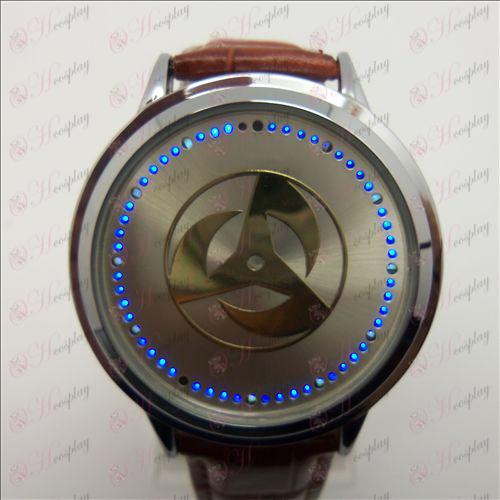 Разширено Touch Screen LED Watch (Naruto напиши кръгли очи)