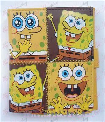 Q version of SpongeBob SquarePants Accessories Avatar wallet (C)